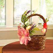 "National Tree Company 12"" Decorated Basket"