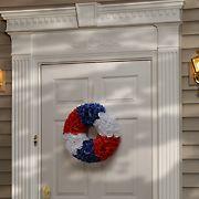 "National Tree Company 18"" Patriotic Rose Wreath"