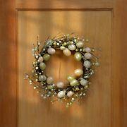 "National Tree Company 20"" Easter Eggs Wreath"