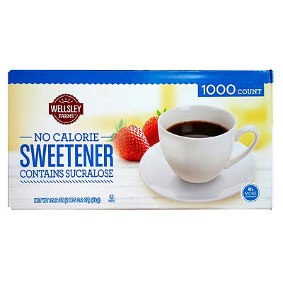 Wellsley Farms Yellow Sweetener, 1,000 ct.