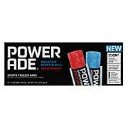 Powerade Sports Freezer Bars - Mountain Berry Blast and Fruit Punch, 45 ct./5.5 oz.
