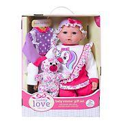 "18"" Huggably Soft Doll and Playset - Baby Emma Unicorn"