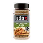 Weber Roasted Garlic & Herb Seasoning, 17 oz.