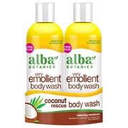 Alba Botanica Very Emollient Body Wash Coconut Rescue