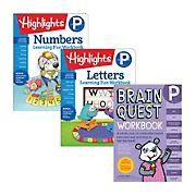 Brain Quest Pre-K Workbook Bundle