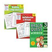 Brain Quest Third Grade Workbook Bundle