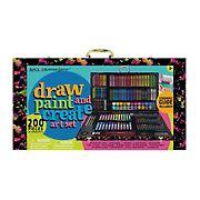 Art 101 200-Pc. Budding Artist Draw, Paint & Create Art Set