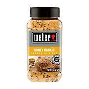 Weber Honey Garlic Seasoning & Rub, 18.5 oz.
