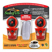 Solofill K6 Universal Refillable Brewing Pod Compatible With Keurig, 1.0 & 2.0 Brewing Systems