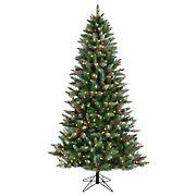 SYLVANIA LED 7.5FT ALPINE FROSTED TREE