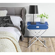Picket House Furnishings Estelle Nightstand - Glossy Blue