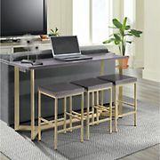 Picket House Furnishings Melrose Multipurpose Bar Table Set