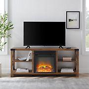 "W. Trends 60"" Open Storage TV Stand"