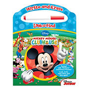 Mickey Mouse Write and Erase Look and Find