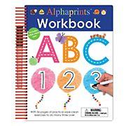 Alphaprints: Wipe Clean Workbook ABC