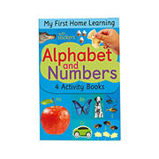 Alphabet and Numbers: Alphabet A to M; Alphabet N to Z; Numbers 1 to 5; Numbers 6 to 10
