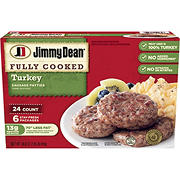 Jimmy Dean Turkey Sausage Patties, 24 ct.