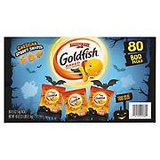 Pepperidge Farm Halloween Edition Goldfish Cheddar Crackers, 80 ct./40 oz.