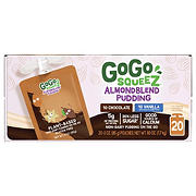 GoGo Squeez Almondblend Pudding Variety Pack, 20 ct.