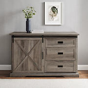 """W. Trends 56"""" Drawer TV Stand"""
