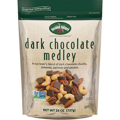 Second Nature Dark Chocolate Medley, 26 oz.