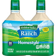 Hidden Valley Original Ranch Homestyle Salad Dressing, 2 pk./40 oz.