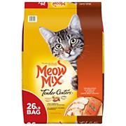 Meow Mix Tender Centers Salmon and Chicken Dry Cat Food, 26 lbs.