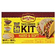Old El Paso Hard & Soft Taco Dinner Kit, 3 pk.