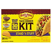 Old El Paso Stand 'N Stuff Taco Dinner Kit, 3 pk.