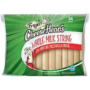 Frigo Cheeseheads Whole Milk String Mozzarella Cheese, 30 oz.