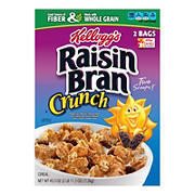 Kellogg's Raisin Bran Crunch, 2 pk./43.oz.