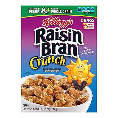 Kellogg's Raisin Bran Crunch, 2 pk./43.oz.
