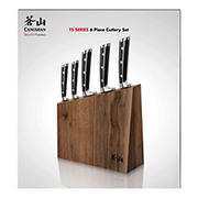 Cangshan Cutlery TS Series Swedish Steel Mountain Block Set, 6 pc.