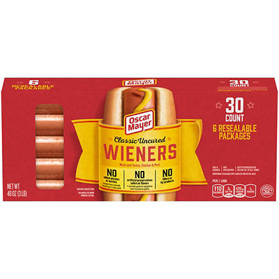 Oscar Mayer Meat Franks, 30 ct.