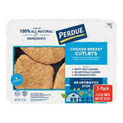Perdue Breaded Chicken Breast Cutlets, 12 oz., 3 pk.