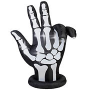 National Tree 7' Inflatable Animated Skeleton Hand with Lights Inside