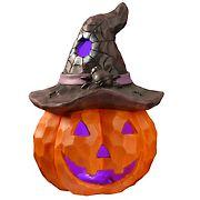 "National Tree 14"" Lighted Halloween Jack-O-Lantern"