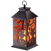 "National Tree 12"" Halloween Lantern with Candle"