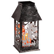 "National Tree 12"" Witch Lantern with Candle"