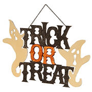 "National Tree 14"" Halloween Door Sign"