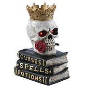 "National Tree 9"" Skull Sitting on Books"