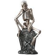 "National Tree 13"" Skeleton on Tombstone"