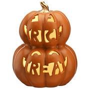 "National Tree 13"" Stacked Jack-O-Lanterns"