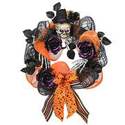"National Tree 22"" Halloween Ribbon Wreath"