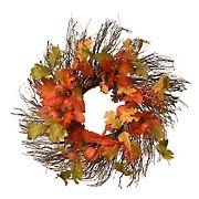 "National Tree 26"" Maple Leaves Wreath"