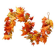 National Tree 6' Maple Leaf Garland