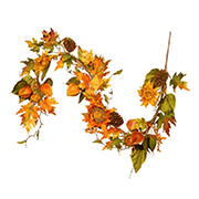 "National Tree 72"" Sunflower Garland"