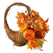 "National Tree 22"" Autumn Cornucopia Basket"