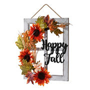 "National Tree 16"" Happy Fall Wall Art"