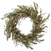 "National Tree 22"" Autumn Grass Wreath"